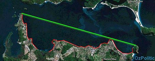 port stephens fishing zones by level